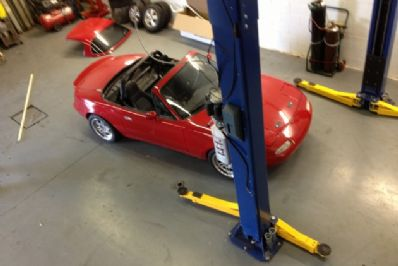 DS Performance | Automotive Accessories in Montreal | 1993 MIATA SHOP CAR VER 1.0 | Automotive accessories specialist in Montreal offering OEM & aftermarket automotive accessories, installation and dealership direct services.